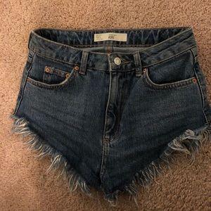 Topshop Kiri jean shorts